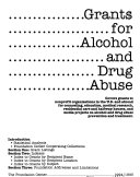 Grant  for Alcohol and Drug Abuse Book