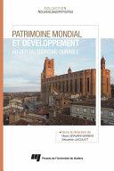 Patrimoine mondial et développement: au défi du tourisme durable Pdf/ePub eBook