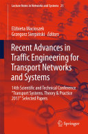 Recent Advances in Traffic Engineering for Transport Networks and Systems