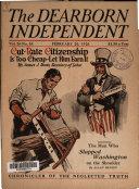 Dearborn Independent Book