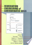 Remediation Engineering of Contaminated Soils