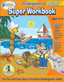 Hooked On Phonics Kindergarten Super Workbook