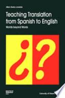 Teaching Translation from Spanish to English