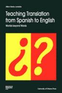 Pdf Teaching Translation from Spanish to English