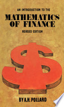 An Introduction to The Mathematics of Finance Book