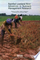 Rainfed Lowland Rice