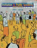 Invitation to Public Speaking Book
