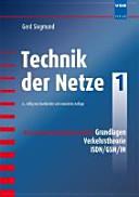 Öffnen Sie das Medium Technik der Netze von Siegmund, Gerd im Bibliothekskatalog