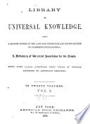 Library of Universal Knowledge Book
