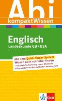 Abi-KompaktWissen Englisch Landeskunde