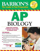 Barron s AP Biology with CD ROM  4th Edition