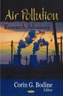 Air Pollution Research Advances
