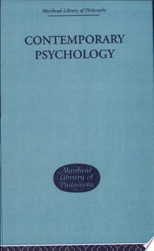 Download Contemporary Psychology Free PDF Books - Free PDF
