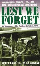Pdf Lest We Forget