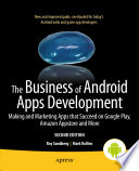The Business of Android Apps Development Book