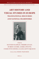 Art History and Visual Studies in Europe
