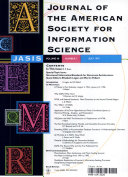 Journal of the American Society for Information Science Book
