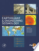 International Handbook Of Earthquake Engineering Seismology Book PDF
