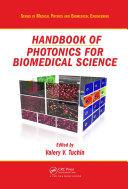 Handbook of Photonics for Biomedical Science Pdf/ePub eBook
