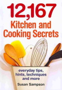12 167 Kitchen and Cooking Secrets Book
