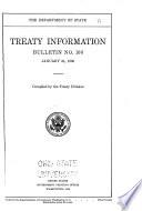 Treaty Information Bulletin