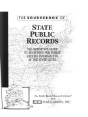 The Sourcebook of State Public Records