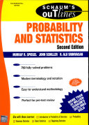 Theory And Problems Of Probability And Statistics (Schaum S Outline Series)