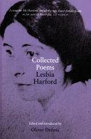 Lesbia Harford Books, Lesbia Harford poetry book