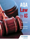 AQA Law for AS Sixth Edition