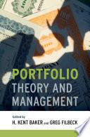 Portfolio Theory and Management Book