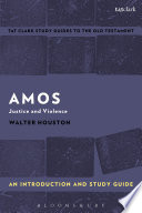 Amos An Introduction And Study Guide