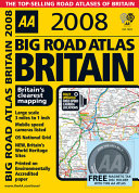 AA Big Road Atlas Britain 2008