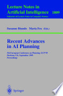 Recent Advances In Ai Planning