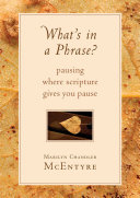 What's in a Phrase?