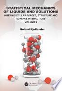 Statistical Mechanics of Liquids and Solutions