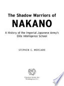 The Shadow Warriors of Nakano Book