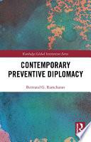 Contemporary Preventive Diplomacy