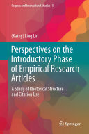 Perspectives on the Introductory Phase of Empirical Research Articles