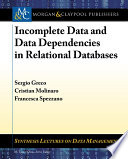Incomplete Data and Data Dependencies in Relational Databases