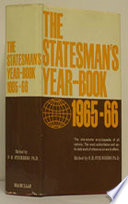 The Statesman s Year Book 1965 66