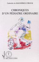 Pdf CHRONIQUE D'UN PÉDIATRE ORDINAIRE Telecharger