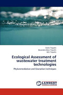 Ecological Assessment of Wastewater Treatment Technologies