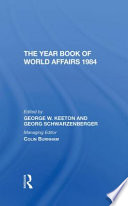 The Year Book of World Affairs 1984