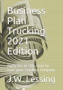 Business Plan Trucking 2021 Edition