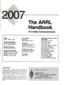 The Arrl Handbook for Radio Communications 2007 Book