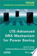 LTE Advanced DRX Mechanism for Power Saving