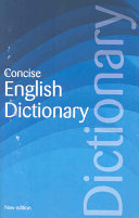 Concise English Dictionary