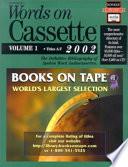 Words on Cassette 2002