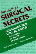 Abernathy s Surgical Secrets Book