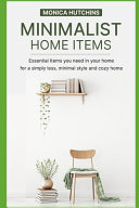 Minimalist Home Items Book PDF